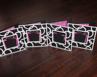 Cricut Made Birthday Cards Set of 4