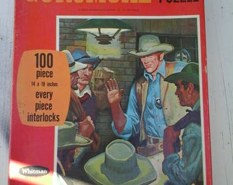 1969 Gunsmoke Jigsaw Puzzle