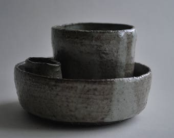 CERAMIC BOWLS, Stoneware Ceramic serving Bowls, Pottery Bowl, Pottery Gift, Wedding Gift
