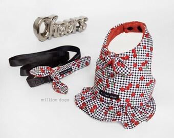 Choke Free Dog Harness, Puppy Harness Skirt, Small dog Harness, Made in USA