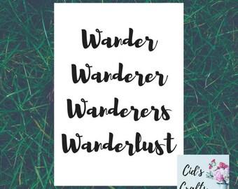 Wanderer Print