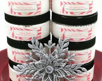 Organic Whipped Body Butter, 8 ounce Jar, Body Cream, Body Lotion, Vegan Body Butter, Free Shipping.