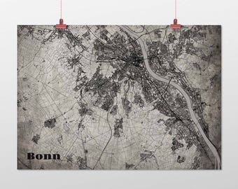 Bonn - A4 / A3 - print - OldSchool