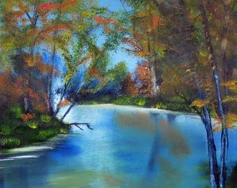 Autumn Reflections  - b