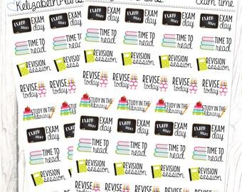 Exam Time   School, College, University, Test, Planner Stickers