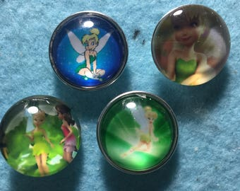 Tinkerbell Snap Charms