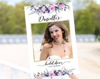 Bridal Shower Photo Prop, Wedding photo props, bridal shower photo booth frame, Bridal Shower sign, Bridal Shower decoration, photo props