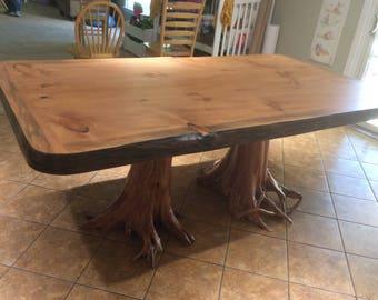 live edge dining room table.  https img0 etsystatic com 185 0 13520611 il 340x