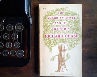The American Novel and Its Tradition - 1957 Anchor Doubleday Paperback Edward Gorey/Leonard Baskin