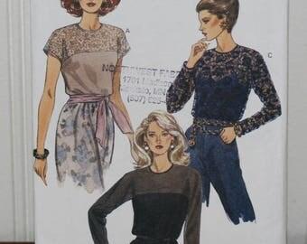 Vogue 8540 Blouse Pattern