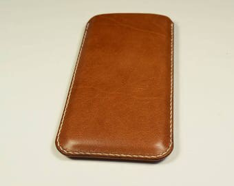 OnePlus 5 Kangaroo Leather Sleeve/Case/Cover, Personalized, Slim, mobile leather Cover
