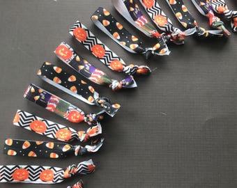 Halloween Elastic Hair Ties