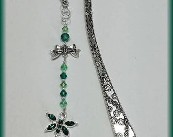 Green Dragonfly bookmark