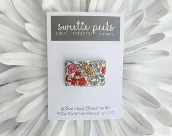 Floral Mini Clip | Liberty of London Hair Clip | Clips for Toddlers |