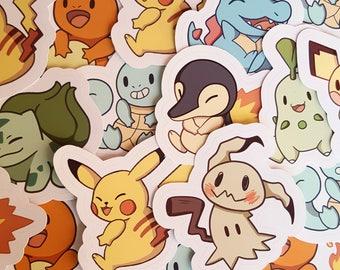 Cute Pokemon Stickers