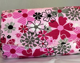 Happy Flowers Convertible Clutch