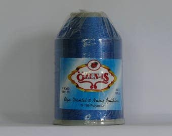 oya yarn Turkish lace crochet polyester no50 thread color 420 Özen Is for crochet needle no 21 / 0,55 - 100 gr