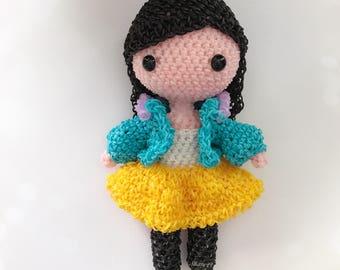Rainbow Loom Doll