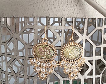 Sparkly Rhinestone Earrings