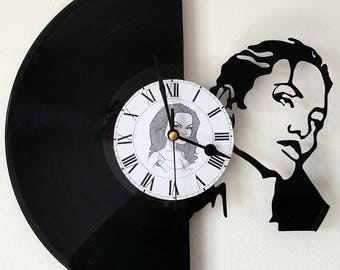 Vinyl 33 clock towers Angelina Jolie theme