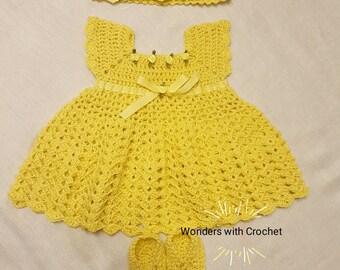 New born baby girl dress