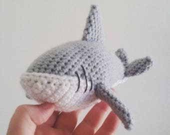 CROCHET SHARK