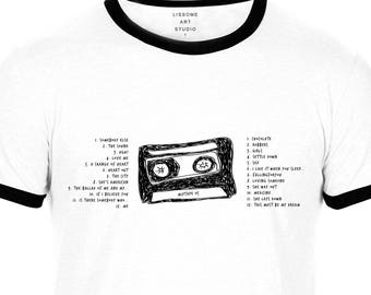 Mixtape T-Shirt THE 1975 by Lissome Art Studio