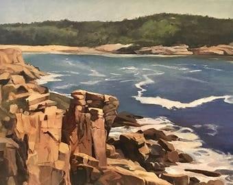 Acadia, Original Oil Painting