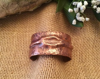 Hand Forged Copper Cuff