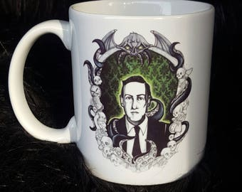 H.P. Lovecraft/ Cthulhu Mug