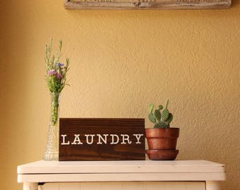 "Multiple Colors - Laundry Sign 11.5"" x 5.5'"