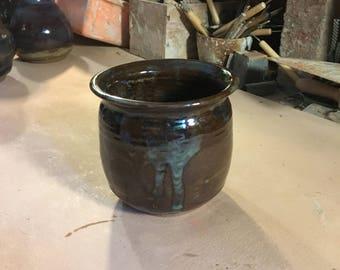 Colored Vase wheel thrown