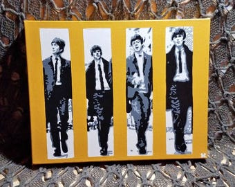 The Beatles. Original Acrylic on Canvas.