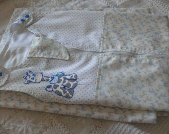 Summer tubulette 100% cotton XL - 24 / 36 months - baby and little fawns