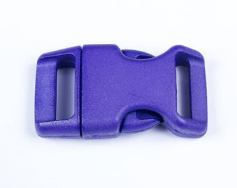 20 mm purple plastic clip