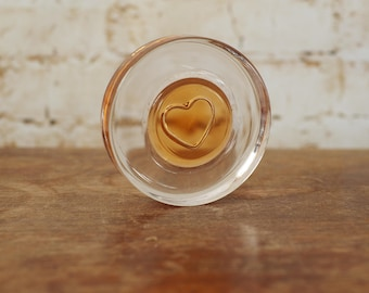 Retro Heart Paperweight
