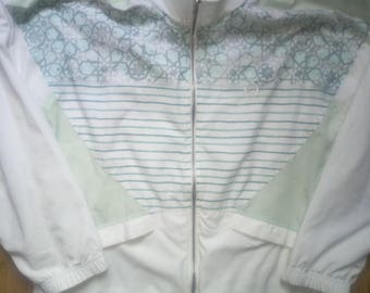 Sergio Tacchini 90's Vintage Authentic Mens Tracksuit Top Jacket