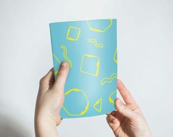 Pattern Notebook, sketchbook, notebooks, lined, unlined, small notebook, journal, Notepads, pocket notebook, blank notebook, diary