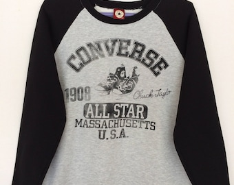 Rare!! Converse All Star Spellout Sweatshirt