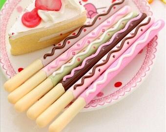 "Gel pen ""chocolate stick"""