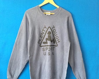20% OFF Vintage PLENTY TOUGH Sport Skateboards Clothing Big Logo Spell Out Made In Usa Size Medium