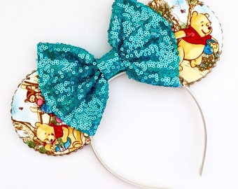 The House at Pooh Corner - Handmade Mouse Ears Headband