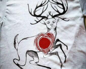 Half-Tone Deer by Aria-Blair