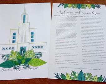 NZ Temple & The Family Proclamation