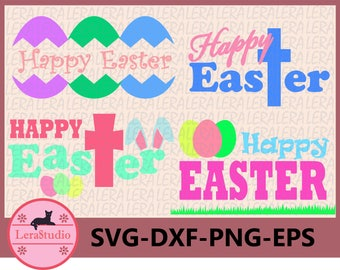 60 % OFF, Happy Easter SVG, Easter SVG, Easter Eggs Svg, Easter Basket Svg, Easter svg, dxf, ai,eps,png, Egg Svg, Silhouette Cut Files