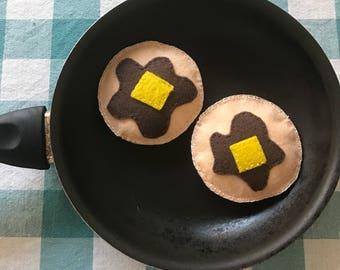 Pancake/ hotcakes breakfast special catnip toy