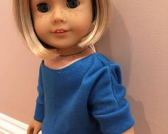 American girl Doloman shirt (Dark Blue)