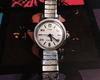 Vintage Timex Electric Stretch Band Watch