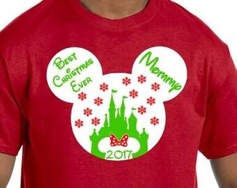 Christmas Disney Family Shirts, Disney Christmas Shirt. Christmas Shirt. Disney Christmas. Disney Shirts, Matching Christmas Disney Shirts
