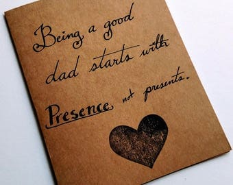 Father's day Presence card
